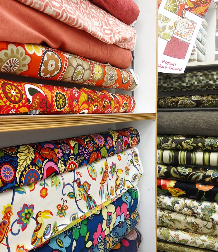 Discount Fabric Shopping - Salvaged Inspirations