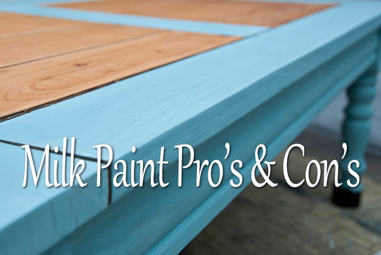 Milk Paint ~ My Personal Pro's & Con's