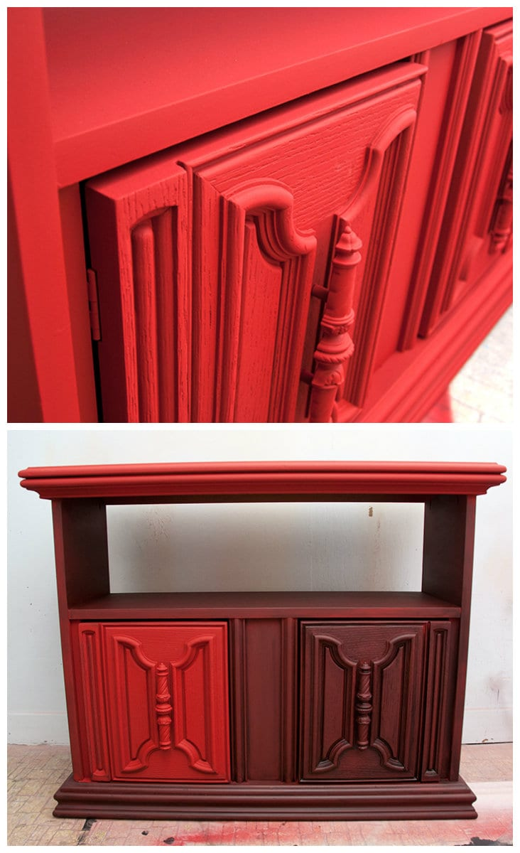 Painting the Town Red w Annie Sloan Chalk Paint... Spray ...