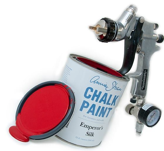 painting the town red w annie sloan chalk paint spray painting that. Black Bedroom Furniture Sets. Home Design Ideas