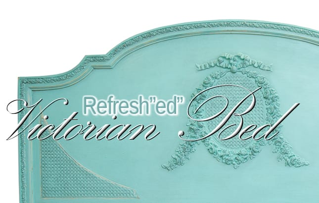 """Refresh""""ed"""" Victorian Painted Bed"""