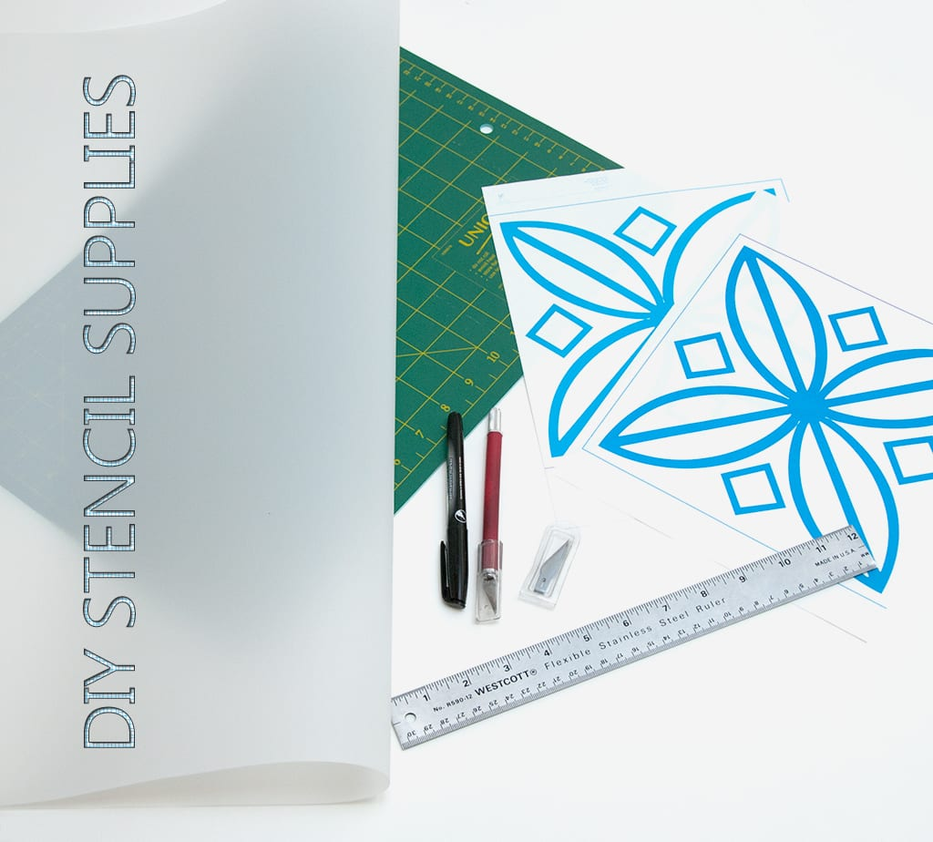 diy stencil supplies