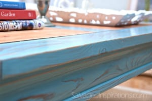 Milk Painted Table