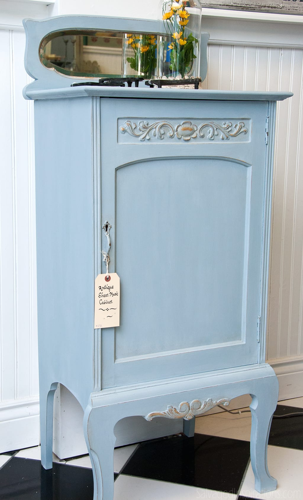 "An adorable ""Numbered-Dresser"" painted by Carolyn… a ..."