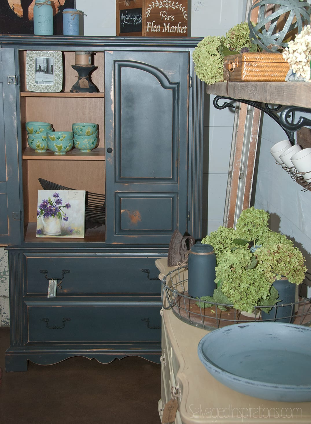 Pleasant-Pickins-Painted-Blue-Hutch