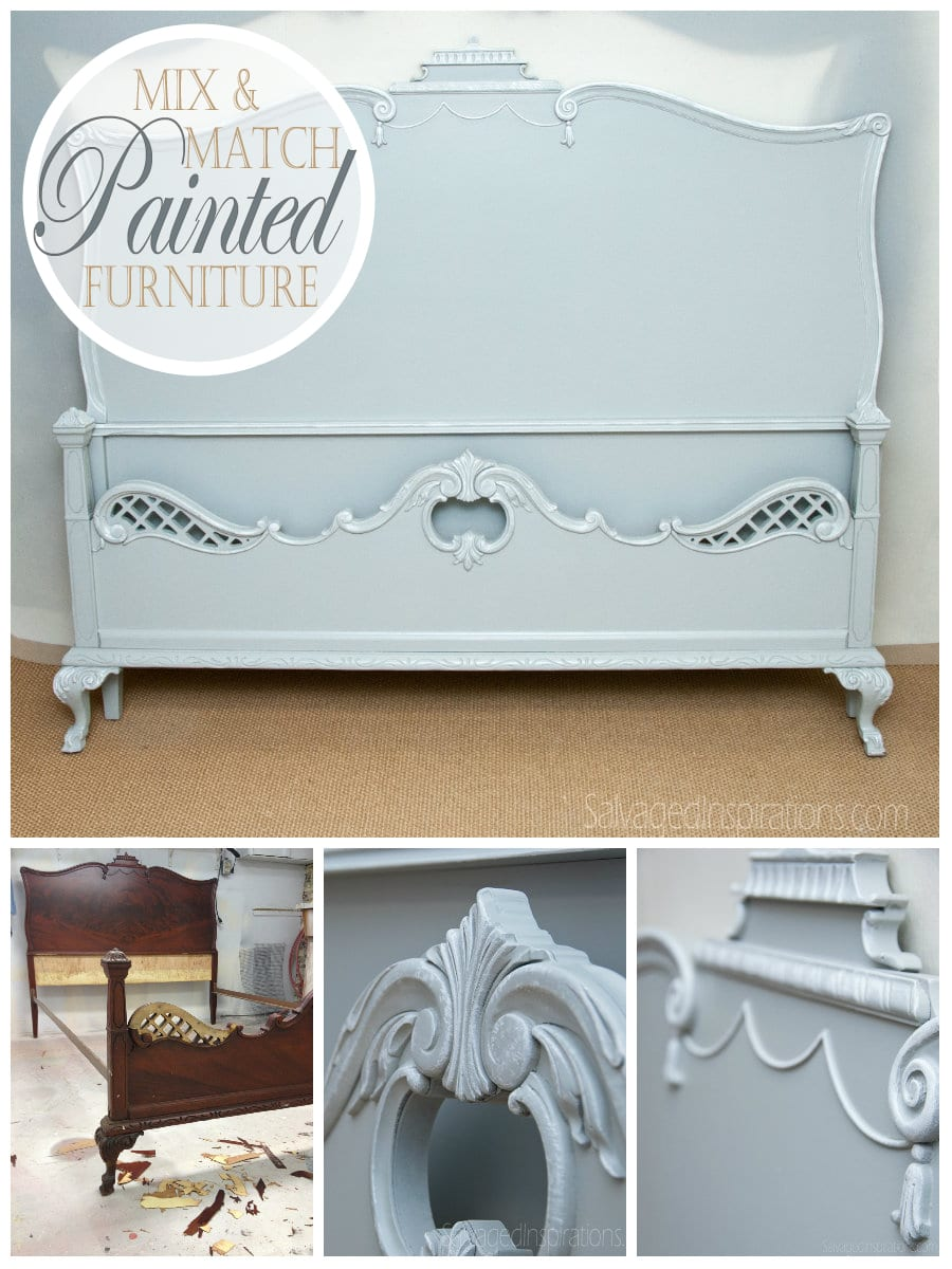 Mix And Match Painted Furniture Three Secrets To Marry An