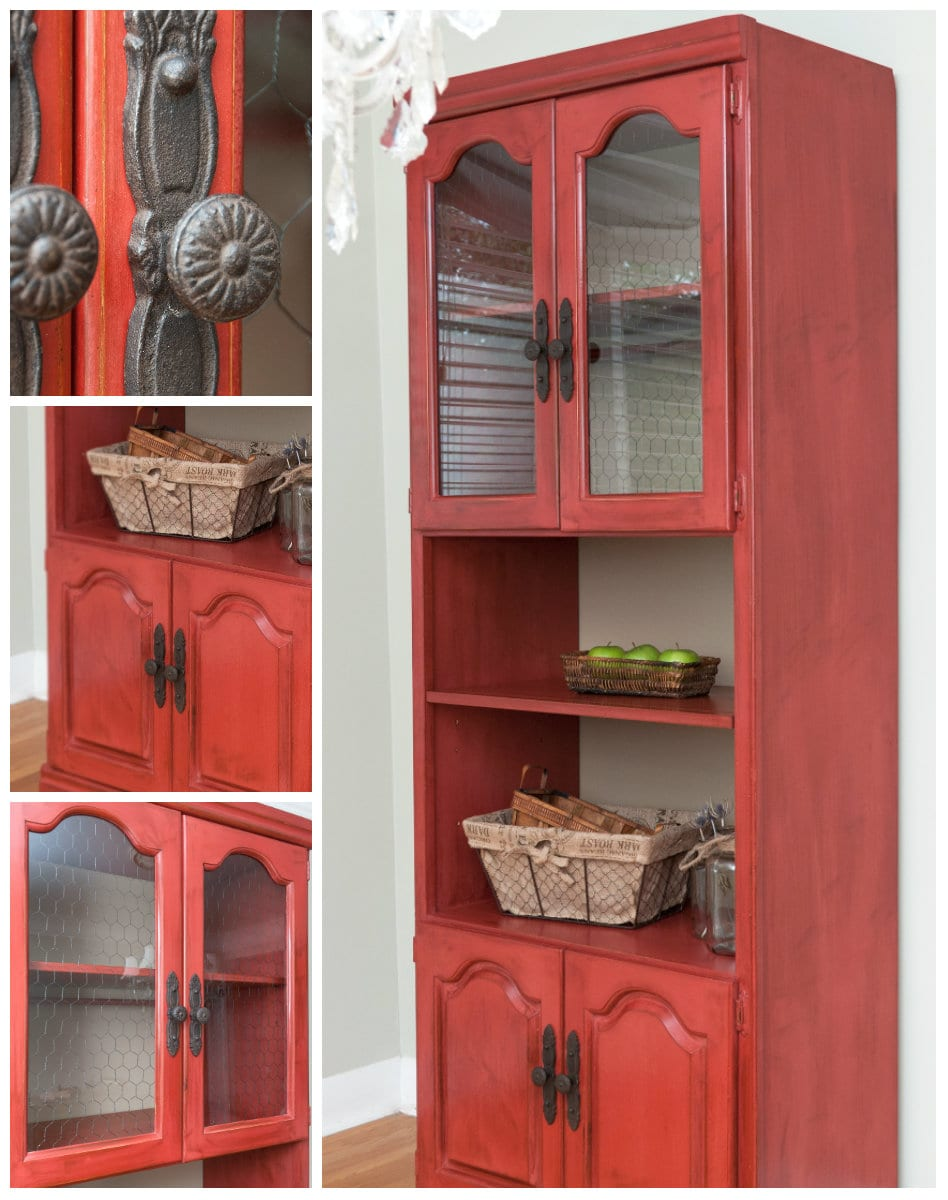 Fall Struck And A Red Chicken Wire Hutch Salvaged