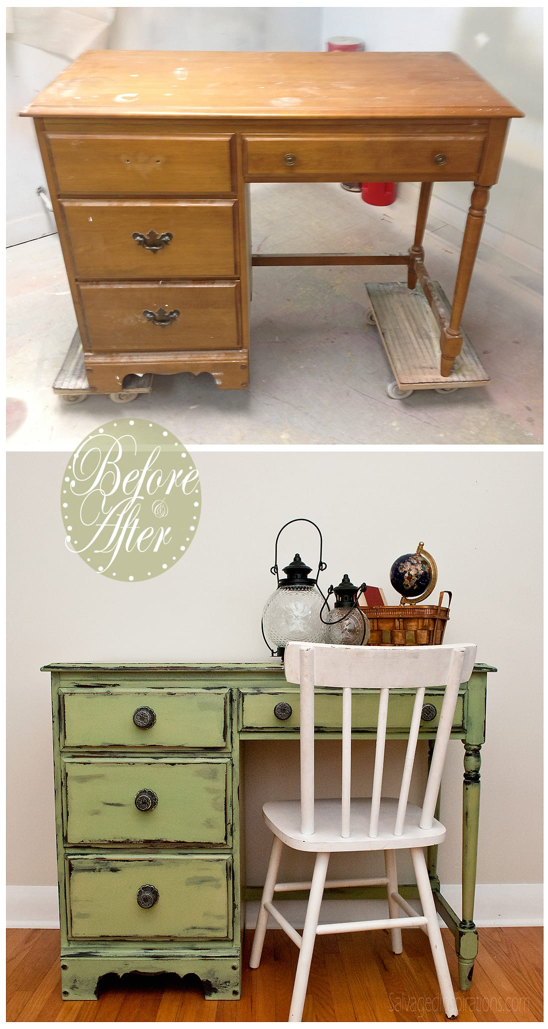 How to distress furniture with vaseline what took me so for Distressed furniture