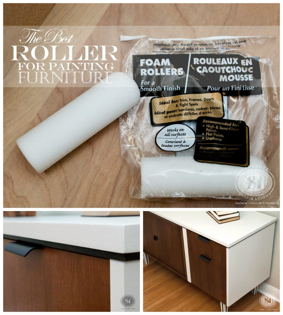 Quick Tip Tuesday The Best Roller For Painting Furniture And 9 Helpful Tips Salvaged