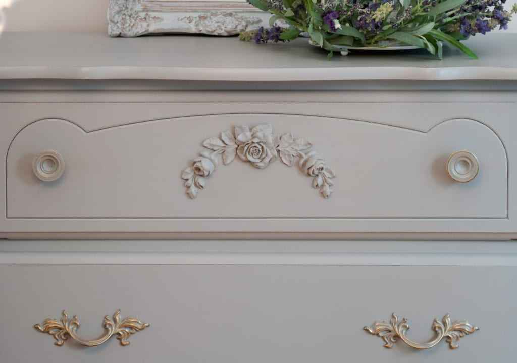 Dressing Up A Classic French Provincial with An Easy-To-Glue-On