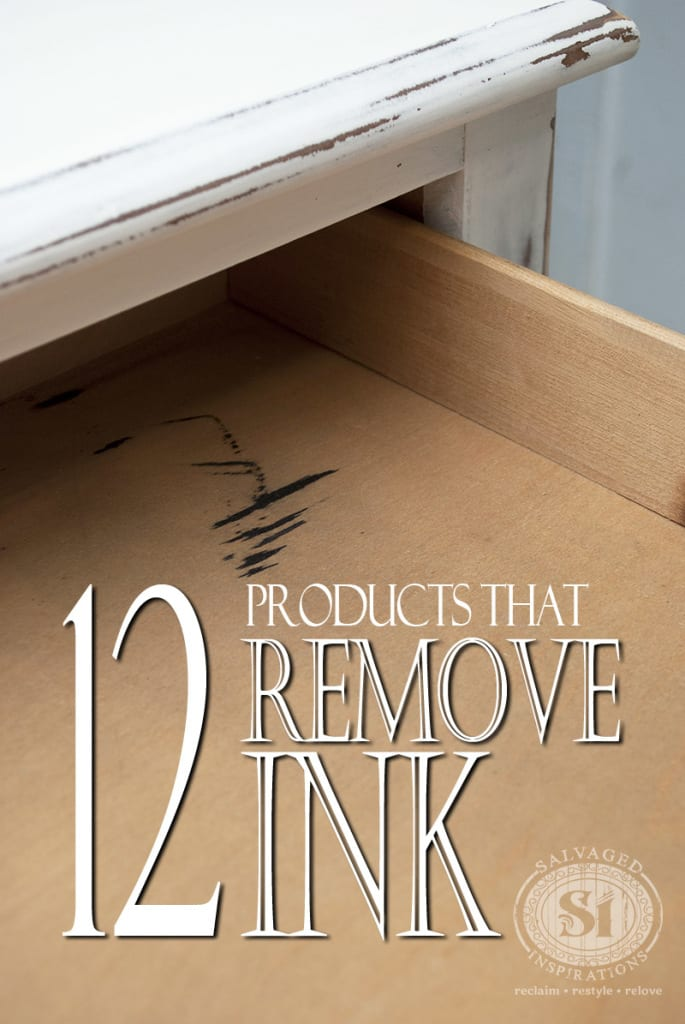 12 Products That Remove Ink Stains From Wood Furniture Salvaged Inspirations