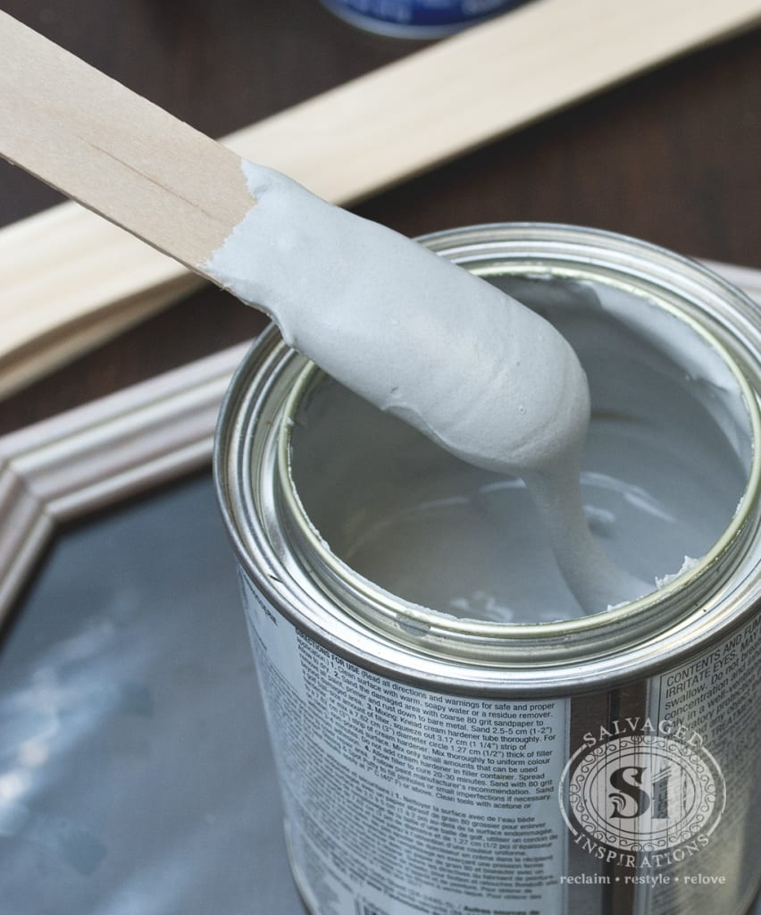 bondo putty - furniture repairs