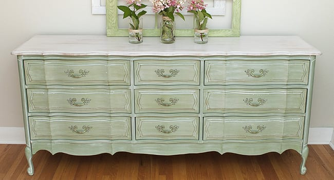 How To Whitewash Wood Furniture