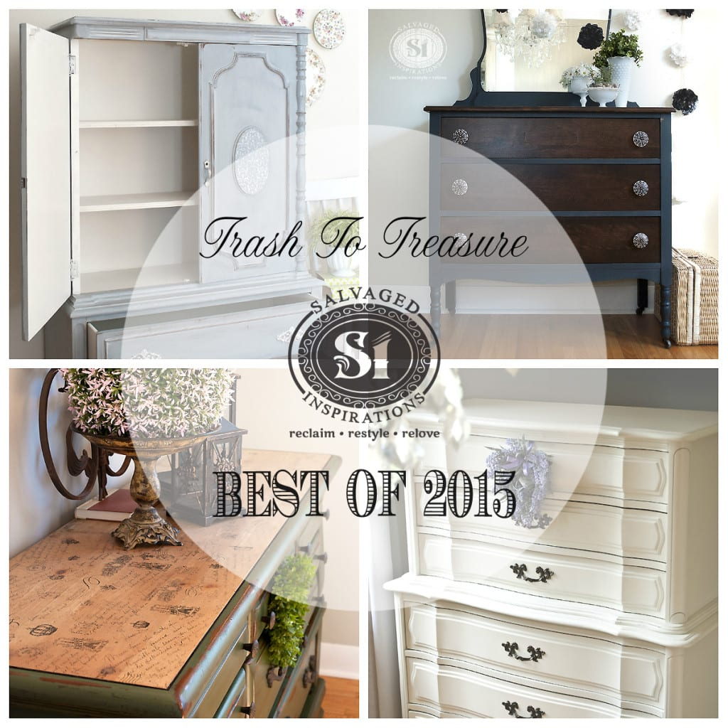 2015-Top 10 Trash To Treasure Painted Furniture