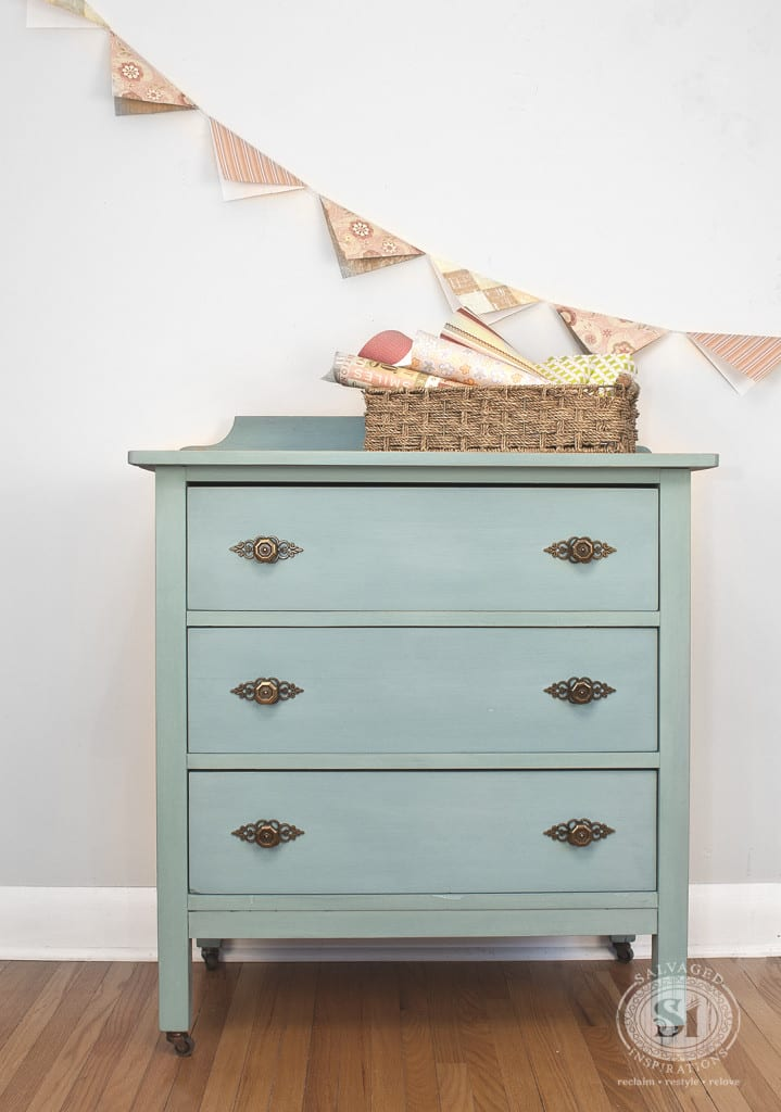 Niagara Green Milk Painted Dresser