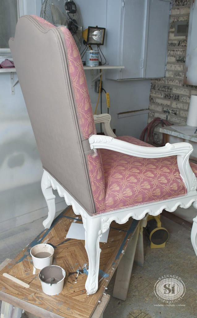 Painting Fabric Chair
