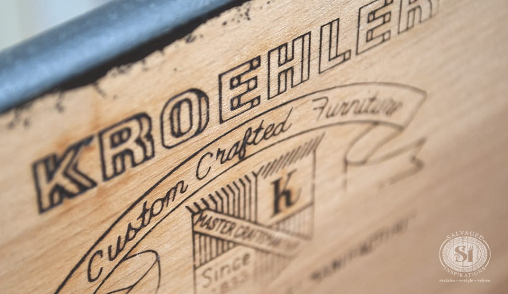 Kroehler Custom Craft Label