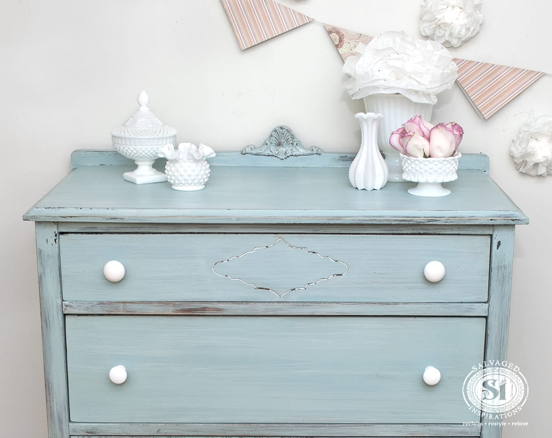 Spring Makeover ~ Layering Milk Paint