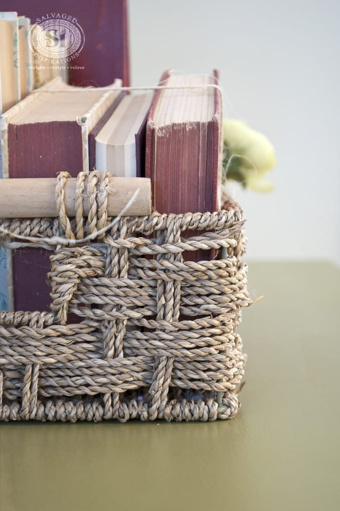 Books in Basket Staging