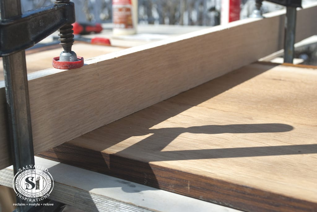 Clamping wood Boards