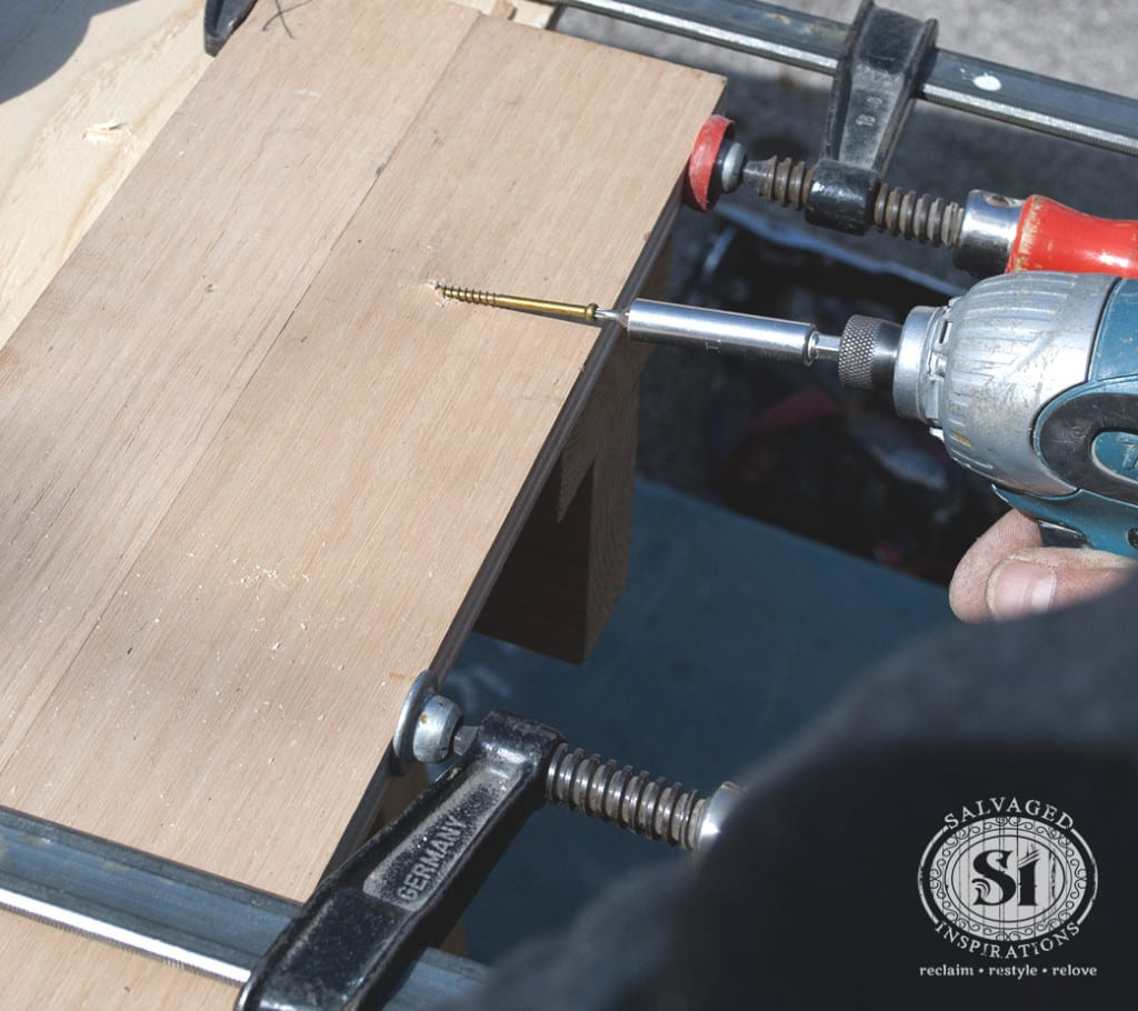 Drilling Wood Boards Together