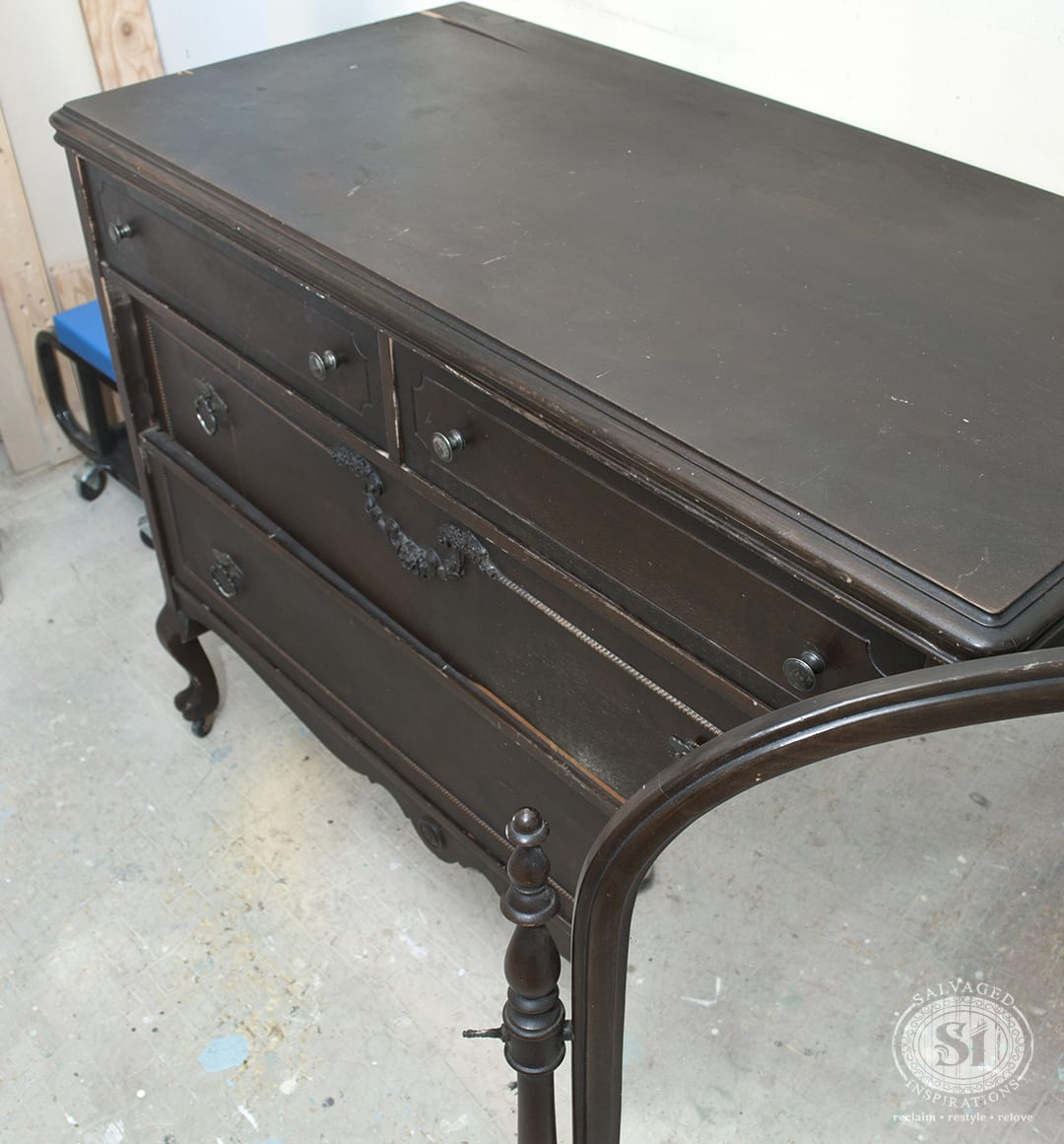 "Antique ""Peach-Orchard"" Dresser"