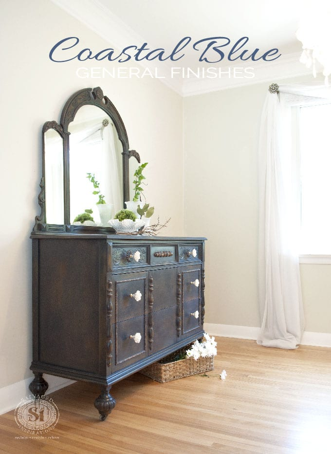 GF Coastal Blue Dresser Text