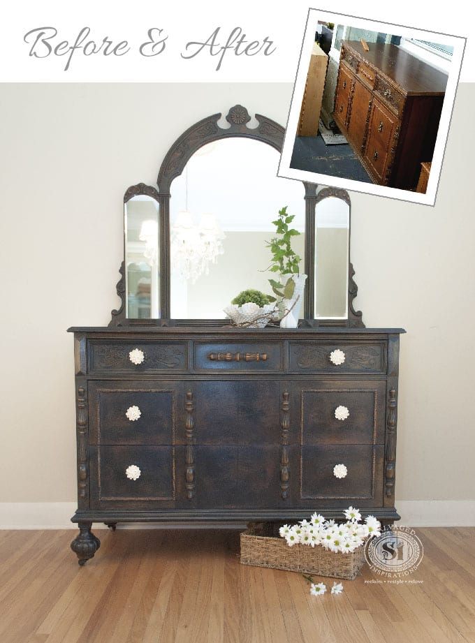 General Finishes Coastal Blue Dresser B&A