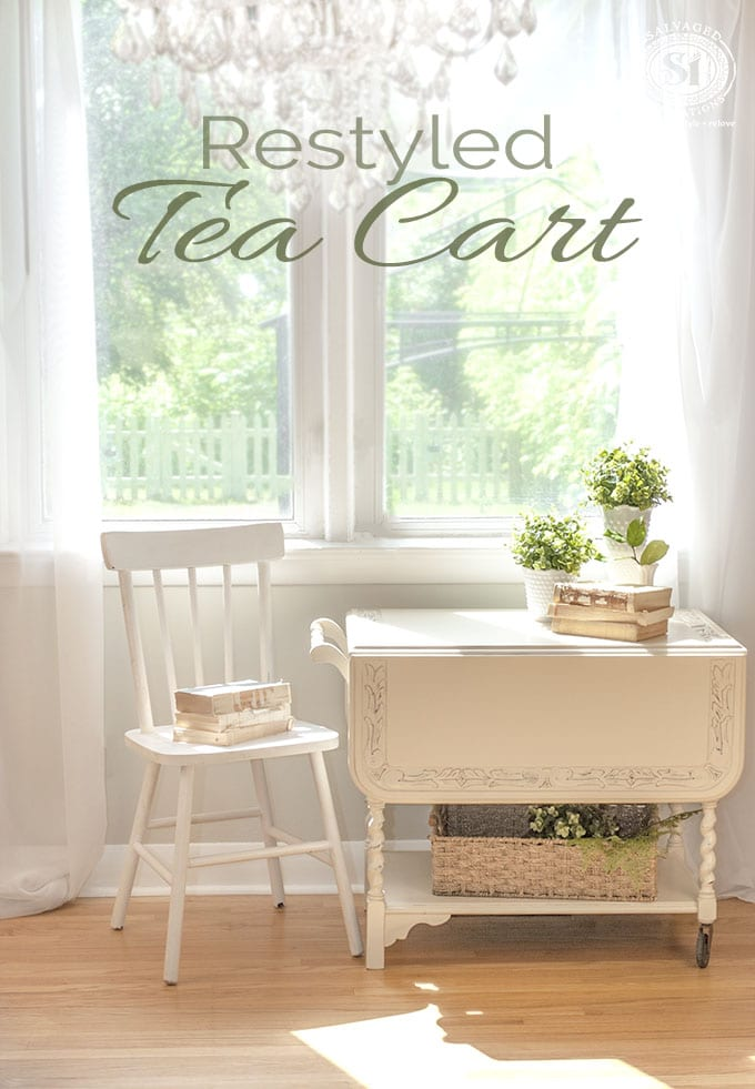 Restyled Tea Cart