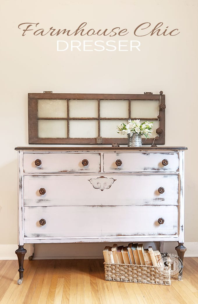 Farmhouse Chic Dresser