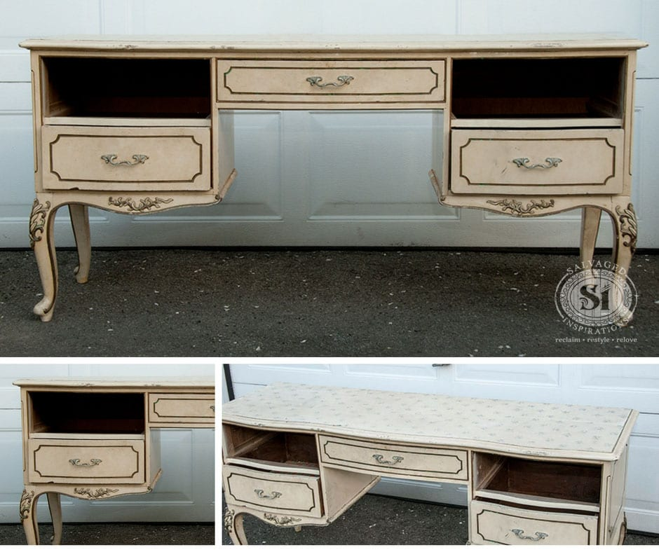 Salvaged French Prov Dresser Before