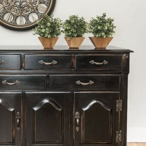 DIY Pottery Barn Knock-Off | 80's Buffet Restyle