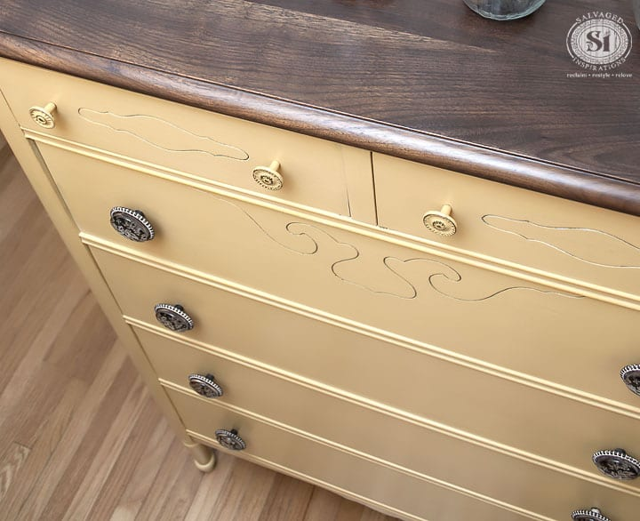 milk-painted-and-stained-vintage-dresser-mustard-yellow-2