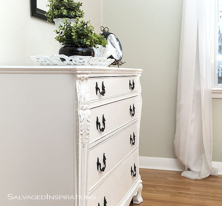 Annie Sloan Pure White Buffet