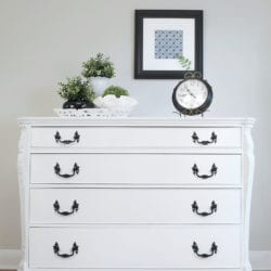 Pure White Annie Sloan Painted Buffet