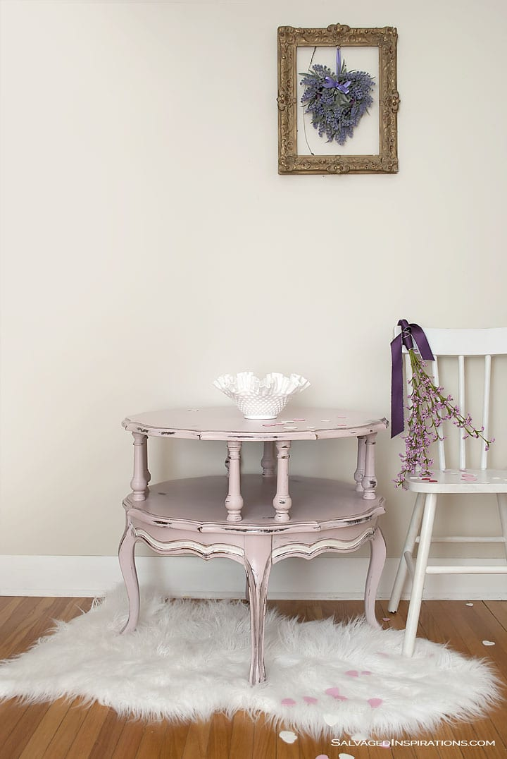 AS Antoinette Round Painted Table