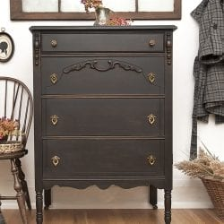 Salvaged Inspirations - Painted Vintage Dresser + Chair