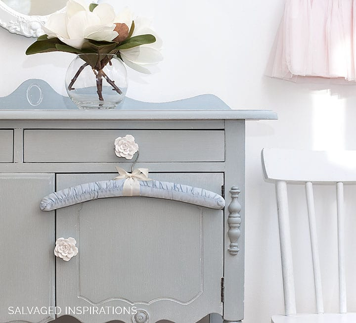 Buffet Painted in Savannah Mist Chalk Mineral Paint