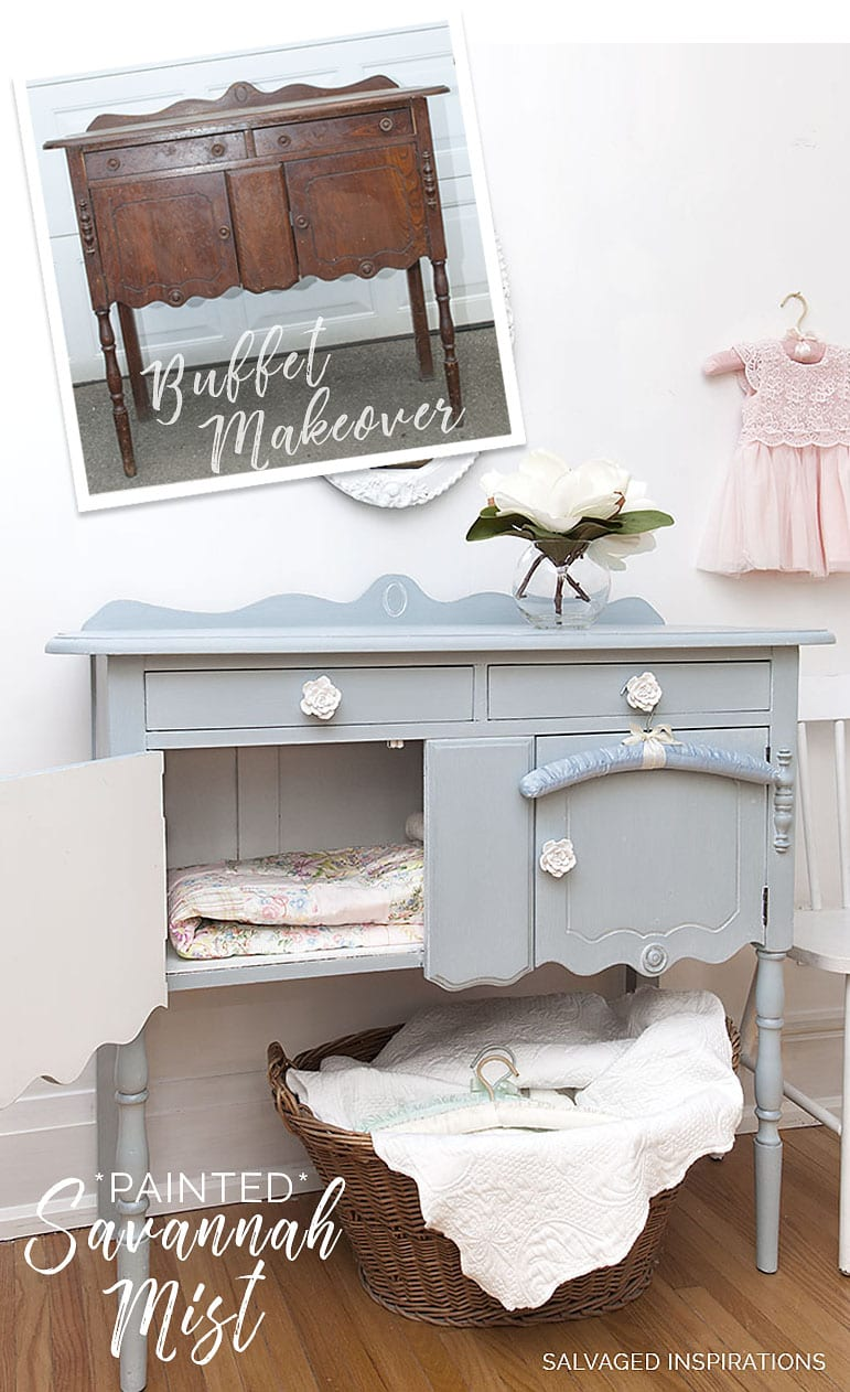 PAINTED * SAVANNAH MIST BUFFET