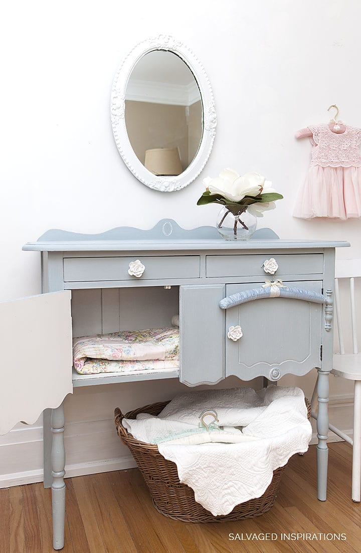 Painted Buffet w Savannah Mist DB