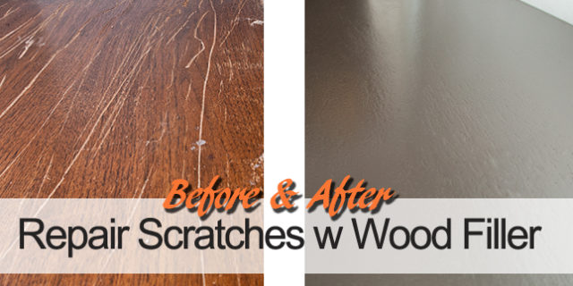 How-To:  Fill in Furniture Scratches