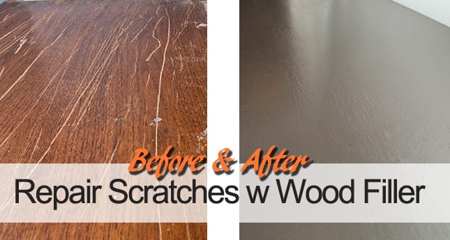 How To Fill In Furniture Scratches Salvaged Inspirations