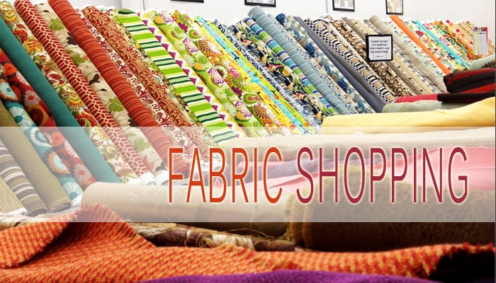 Discount Fabric Shopping