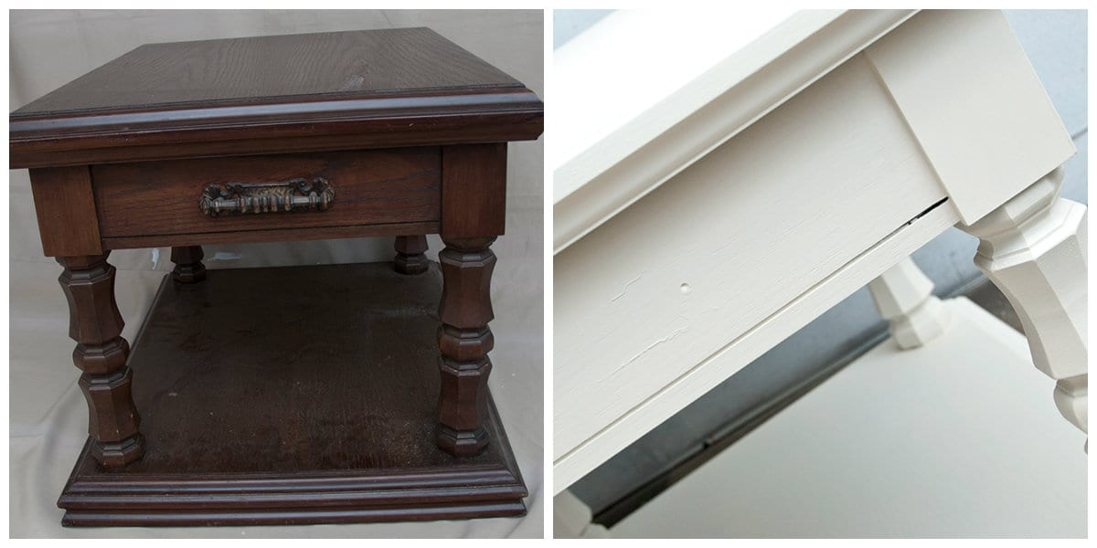 How to grey wash furniture with wax salvaged inspirations for Dark grey furniture paint