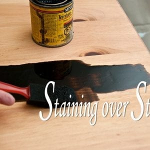 Can you Stain over Stain?