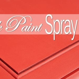 ASCP chalk paint spray finish