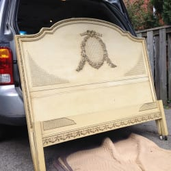 Victorian Bed Before Painting