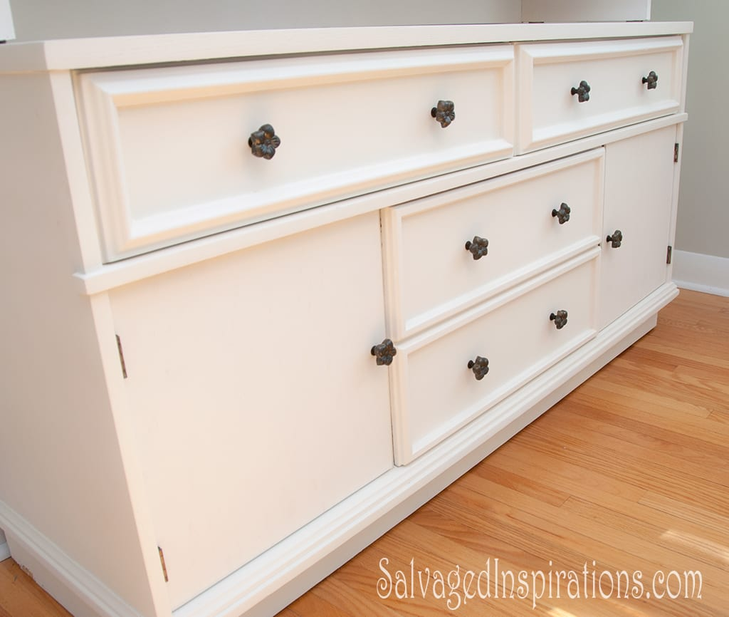replaced drawer knobs