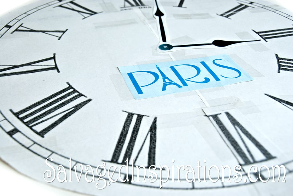 Clock-Stencil-Transfer-Design