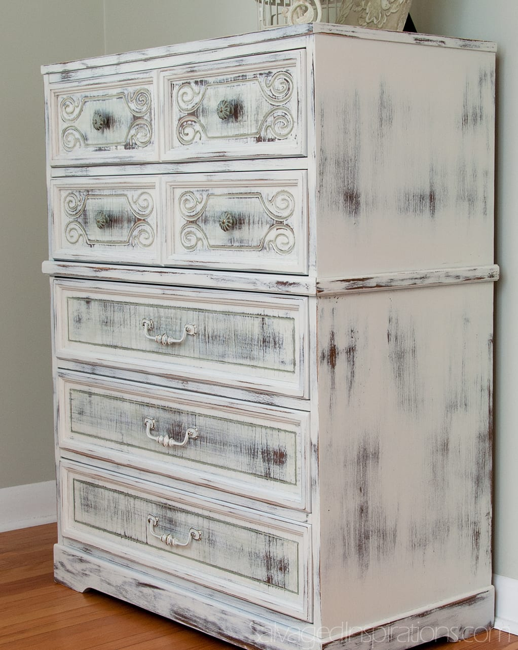 milk painted shabby chippy chic dresser. Black Bedroom Furniture Sets. Home Design Ideas